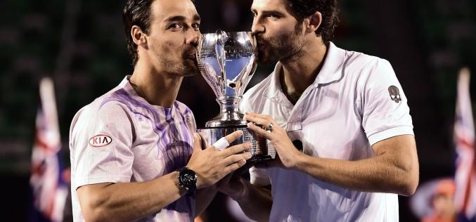 Simone Bolelli și Fabio Fognini, învingători în finala de dublu de la Australian Open