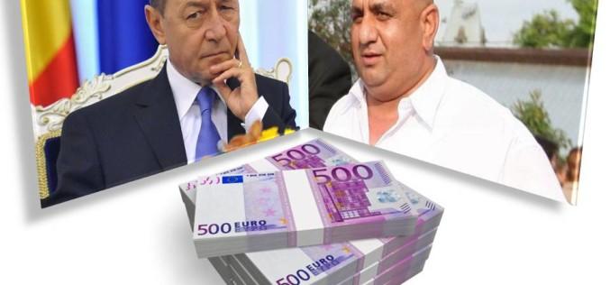 Traian Băsescu a luat 600.000 de euro șpagă de la interlopul Bercea Mondial