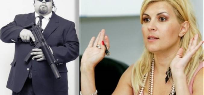 Elena Udrea se teme să nu fie omorâtă de SRI. Și-a luat bodyguard
