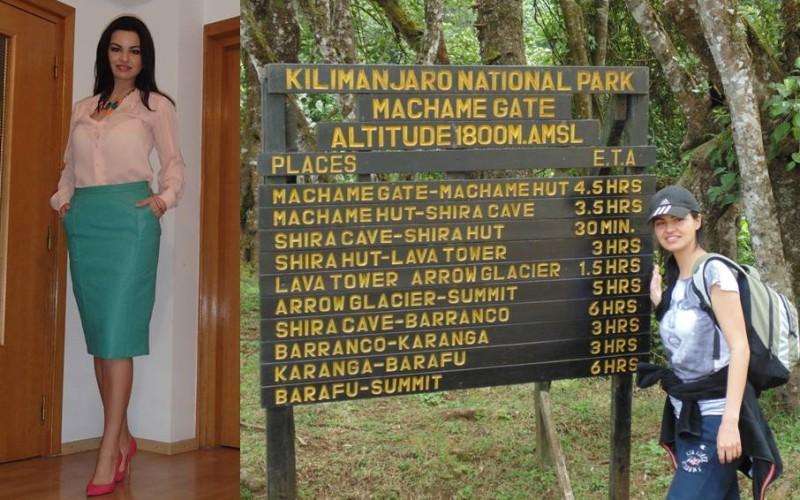 Oana Tirpan, prima nutriționistă din România care a cucerit Kilimanjaro!