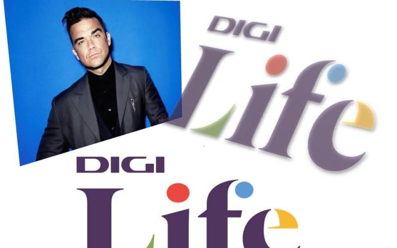Robbie Williams, live în Tallin, pe 30 ianuarie la Digi Life