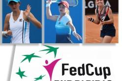 Simona Halep, Irina Begu, Monica Niculescu și Alexandra Dulgheru în echipa de Fed Cup a României