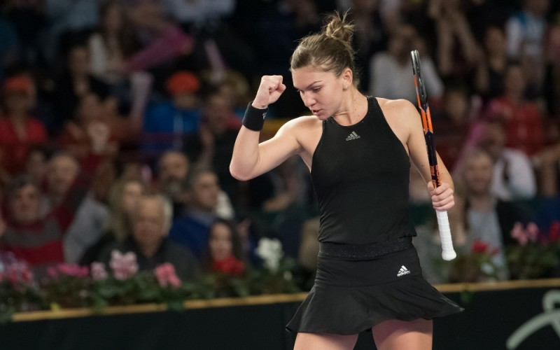Simona Halep, victorie chinuită în turul doi la Indian Wells