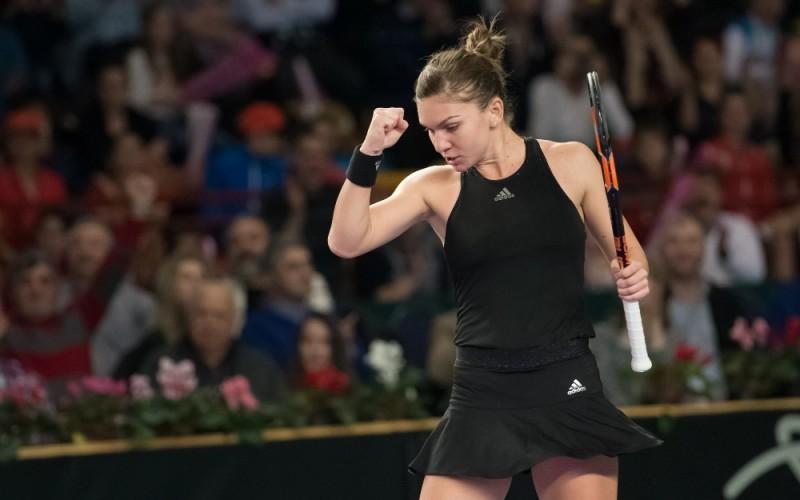Simona Halep, calificată în turul trei la turneul de tenis Dubai Duty Free
