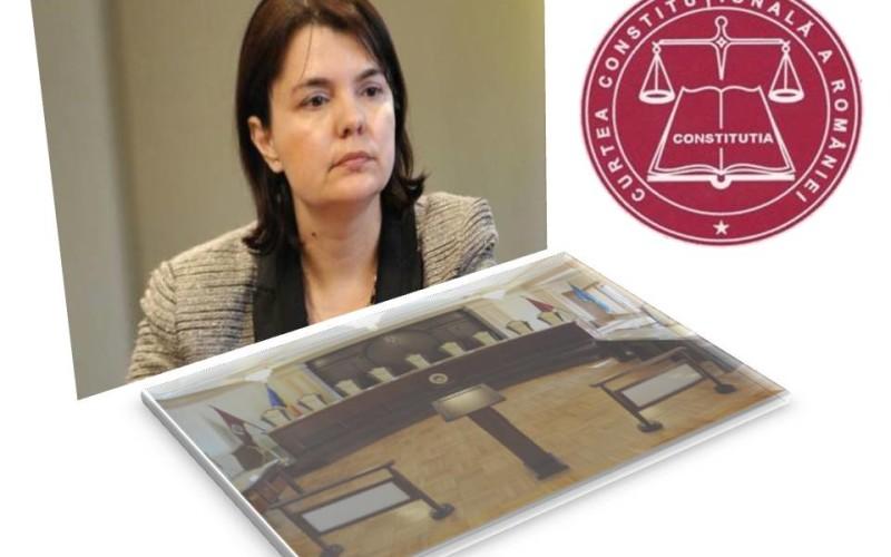 Simona Maya Teodoroiu, numită judecător CCR de Senatul României
