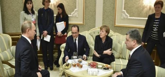 Acordul de la Minsk pune capăt războiului din estul Ucrainei