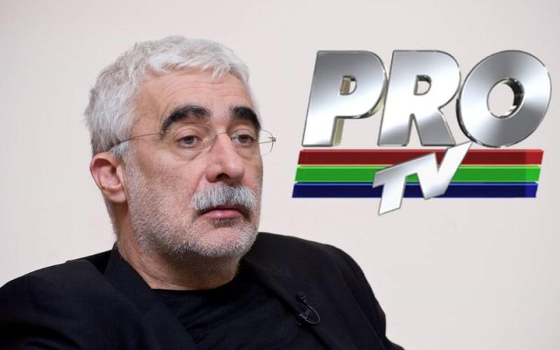 Adrian Sârbu, fondatorul PRO TV, a vrut să arunce în aer protestatarii de la Universitate