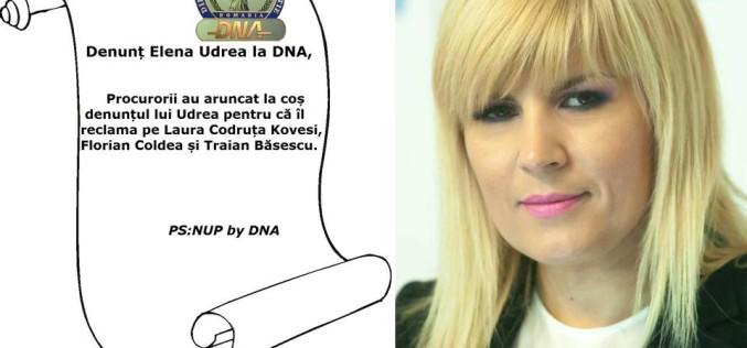Iată denunțul complet formulat de Elena Udrea la adresa lui Florian Coldea, ignorat de DNA