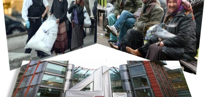 Românii, denigrați într-un documentar tv la Londra