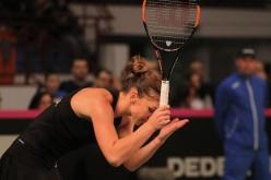 Iată cum explică Simona Halep eşecul din meciul cu Caroline Wozniacki