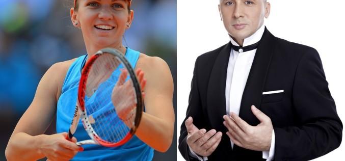 Marcel Pavel se laudă că se antrenează cu Simona Halep