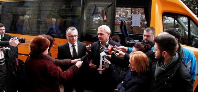 Primul microbuz școlar cu 30 de locuri este gata să transporte elevi