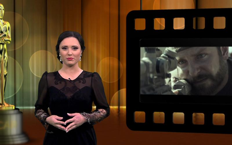 Irina Margareta Nistor comentează în direct la Digi 24 și Digi Film, Premiile Oscar 2015