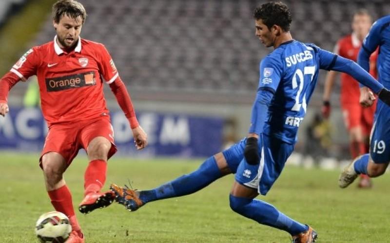 Pandurii Tg. Jiu, victorie în semifinalele Cupei Ligii, în fața lui Dinamo