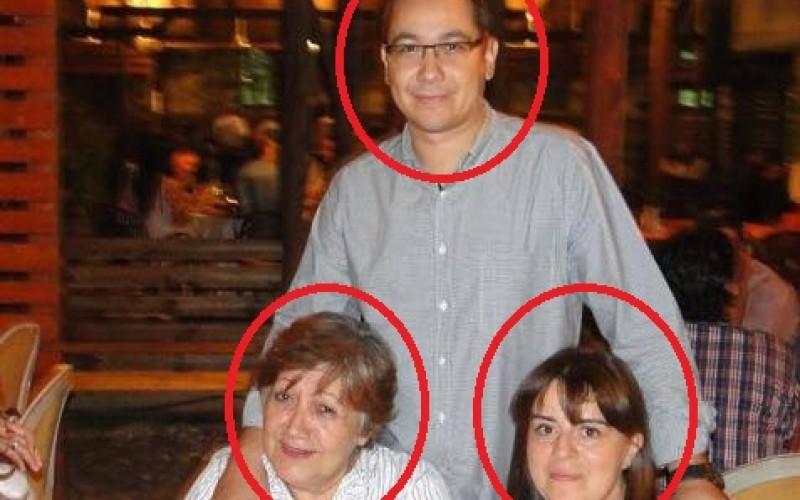 Ponta suferă pe Facebook că DNA îi linșează mediatic sora și mama