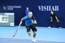Radu Albot defilează la Wimbledon. A ajuns în turul doi la simplu