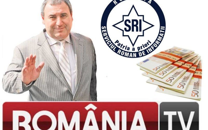 RTV, televiziunea SRI, finanțată cu șpăgi de la Dorin Cocoș