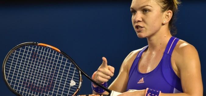 Simona Halep a învins-o pe Madison Keys în meciul de debut la Turneul Campioanelor