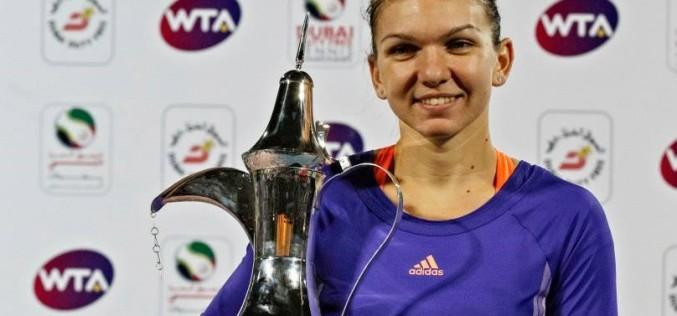 Simona Halep a câștigat în mod dramatic turneul de la Dubai