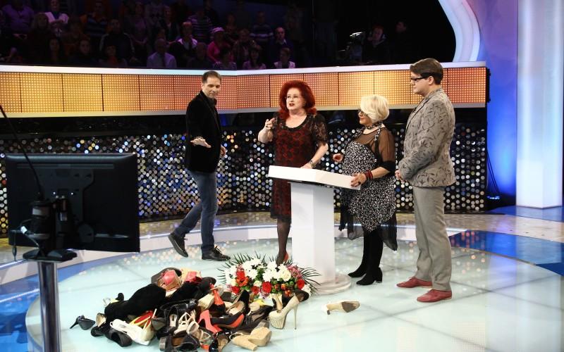 Stela Popescu și Mirabela Dauer au acasă sute de perechi de pantofi