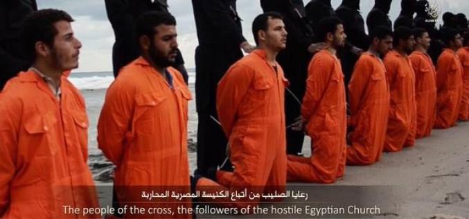 Cruzime fără margini | 21 de egipteni, decapitați de jihadiști în Libia