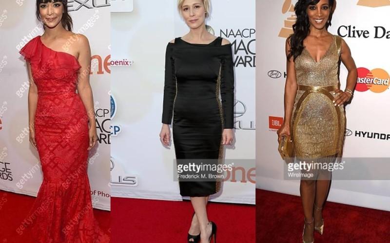 Iată ce vedete de la Hollywood au purtat rochii românești la Gala Grammy 2015