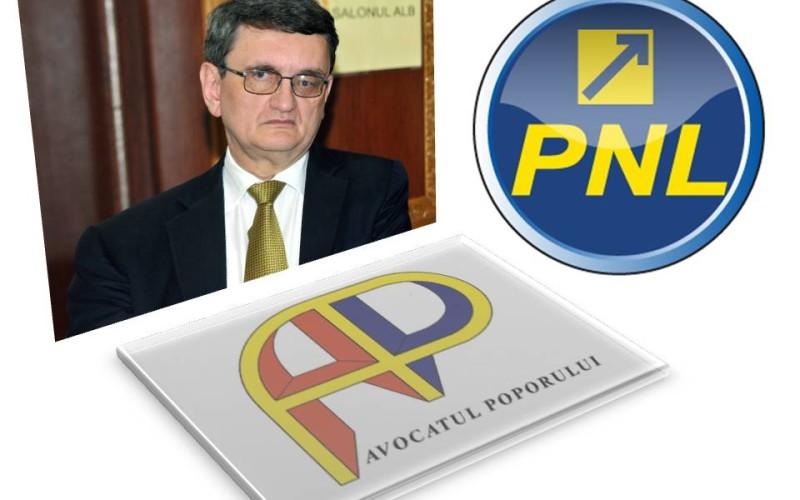 PNL a demarat procedura de demitere a lui Victor Ciorbea din funcția de Avocat al Poporului