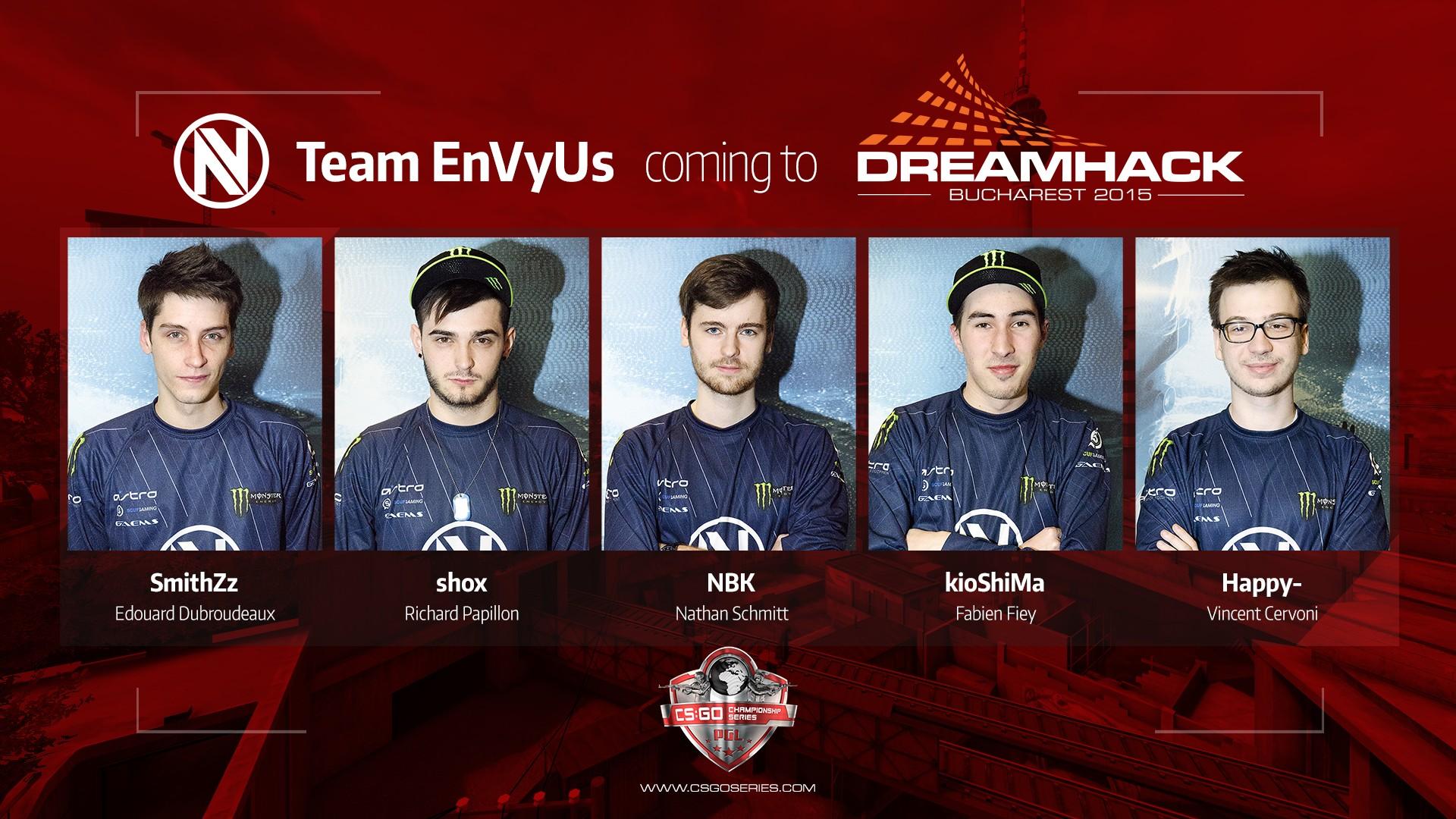 Envy la Dreamhack