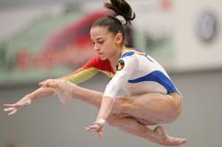 Andreea Munteanu, aur la bârnă la Europenele de Gimnastică de la Montpellier