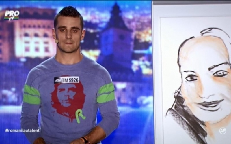 Andrei Grigoriu a minţit juriul de la Românii au talent. A făcut puşcărie pentru crimă şi nu pentru tăinuire