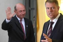 Klaus Iohannis, făcut lichea de către fostul președinte, Traian Băsescu