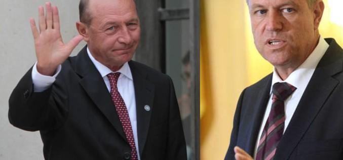 Șase asemănări șocante între Traian Băsescu și Klaus Iohannis