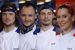 Patru bucătari din Franța se întrec la Iadul Bucătarilor