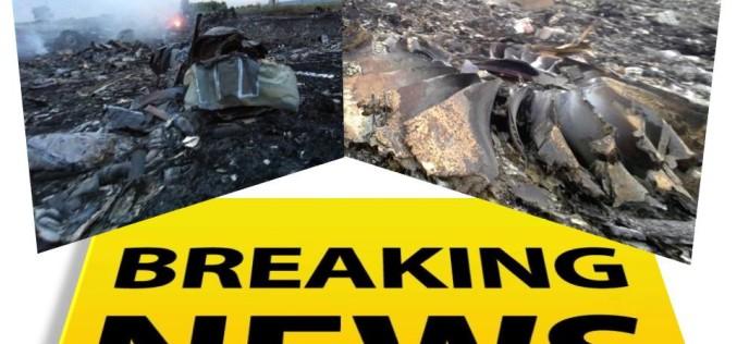 E oficial. Rușii au doborât avionul Malaysian Airlines în Ucraina