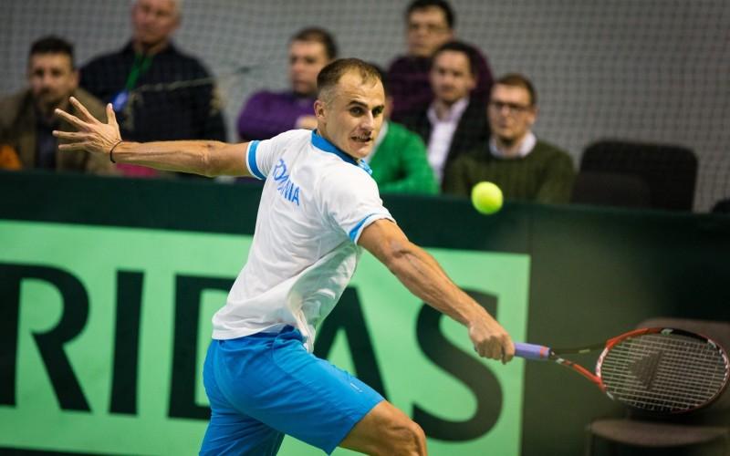 Marius Copil, victorie de senzație în Cupa Davis în fața slovenului Blaz Rola