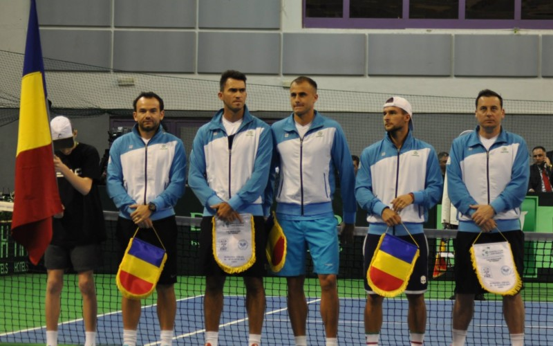 România joacă în iulie la Constanța, cu Slovacia în Cupa Davis