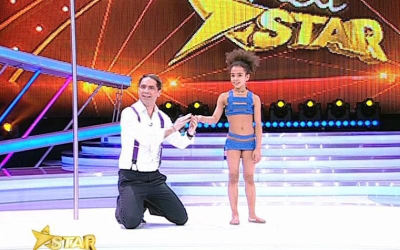 Jurații Next Star, uluiți de execuția unei acrobații la bară a unei fetițe de 8 ani