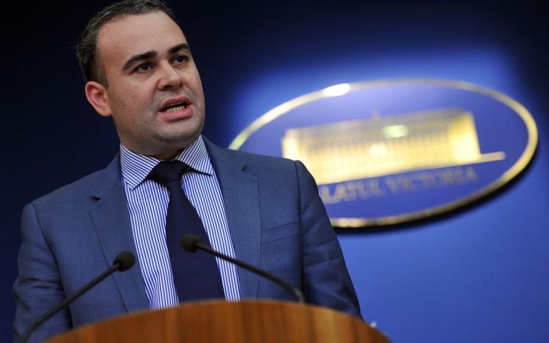 Darius Vâlcov și-a dat demisia din Senatul României