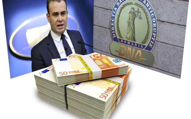 Guvernul Ponta a primit o mega lovitură de la DNA. Darius Vâlcov a luat 2 milioane de euro drept mită