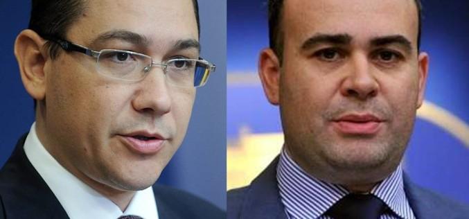 DNA l-a forțat pe Ponta să aprobe demisia lui Darius Vâlcov