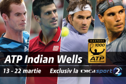 Digi Sport transmite în direct turneul Masetrs de la Indian Wells