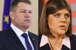Klaus Iohannis nu vrea să o demită pe Kovesi de la șefia DNA