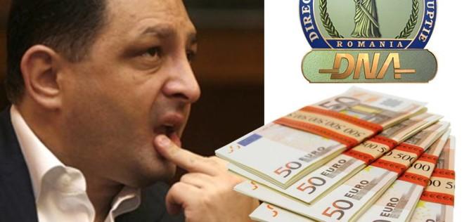 Vanghelie, reținut de DNA pentru că a luat 90 de milioane de euro, mită