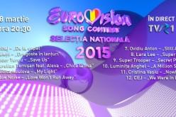 TVR a stabilit ordinea de intrare în finala Eurovision România 2015