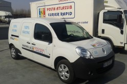 Atlassib, prima companie de curierat din România care testează un vehicul electric