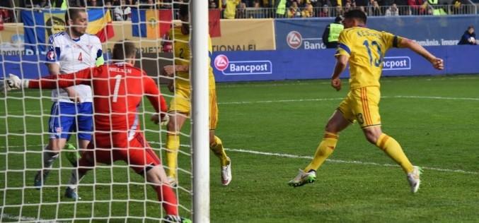 România a câștigat cu 1-0 partida cu Insulele Feroe din cadrul preliminariilor Euro 2016