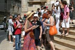 Aproape două milioane de turiști străini au vizitat România în 2014