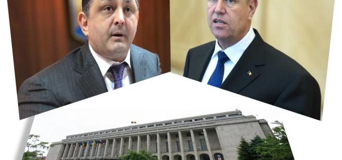 Iohannis voia să dărâme Guvernul Ponta cu ajutorul lui Vanghlie