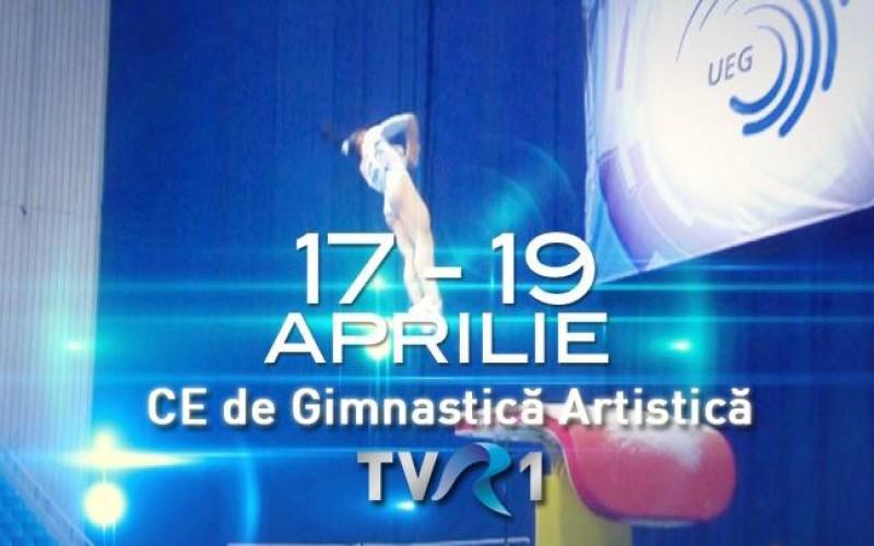 Campionatele Europene de Gimnastică Artistică de la Montpellier, în direct la TVR 1