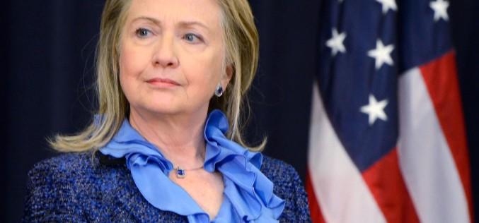 Hillary Clinton candidează pentru președenția Statelor Unite ale Americi
